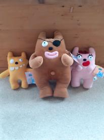 Rex The Runt Plush Toys Aardman New