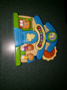 Interactive coo coo clock for baby