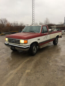 1987 f250 diesel will trade for motorcycle