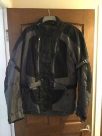 Buffalo Endurance Black/Grey Motorcycle Jacket.