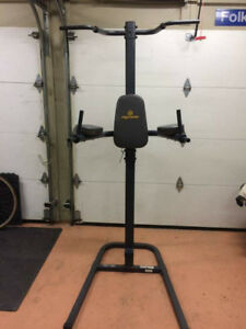 Apex Power Tower Pull Chin UP VKR Knee Raise Dips Station