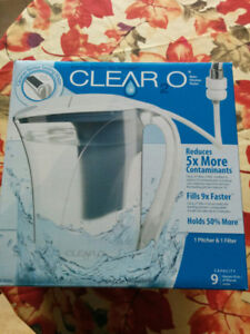 Water filter and pitcher