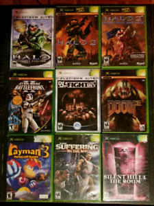 Jeux Xbox collection