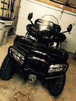 2013 ARCTIC CAT TRV 700 LIMITED WITH PLOW