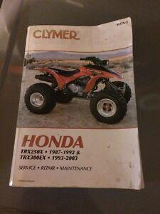 Honda trx250x, 300ex fortraxx