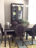 Gorgeous Espresso Dining Room Furniture from Urban Barn