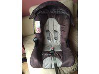 Car seat . Baby seat . Graco car seat . Baby car seat