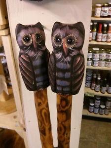 Owl Walking Sticks