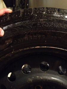 from toyota celica 2001 winter tires and rims Kitchener / Waterloo Kitchener Area image 1