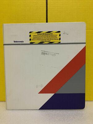 Tektronix 070-9970-00 Csa 803c Analyzer 11801c Oscilloscope Programmer Manual