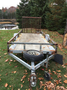 Northtrail Galvanized Trailer