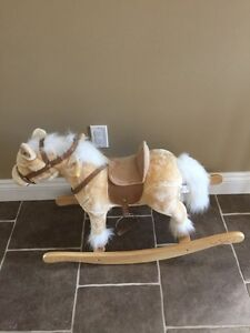 ANIMATED ROCKING HORSE (LIKE NEW)