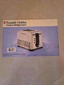 Brand new Russell hobbs emma bridgewater toast and marmalade toaster