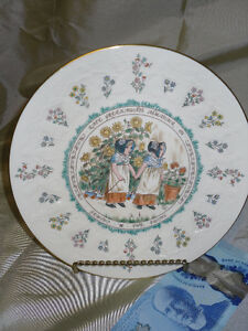 "Sale $5.00 Royal Doulton ""Gemini"" plate"