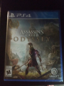 Assassin's creed Odyssey ps4 never opened