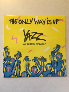 """YAZZ & Plastic Population """"The Only Way Is Up"""" Vinyl 12"""" (1988)"""