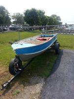 Princecraft 14' Aluminium Boat with Trailer KESWICK