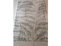 Large shaggy rug from B&Q