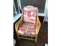 2 * conservatory/sun lounge chairs