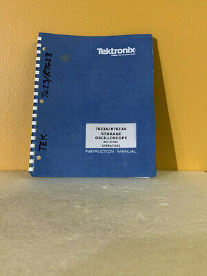 Tektronix 070-1684-00 7623ar7623a Storage Oscilloscope With Options Op. Manual