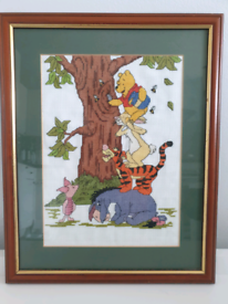 Framed Winnie the Pooh