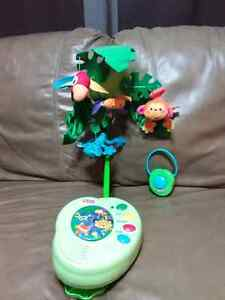 Rainforest musical mobile