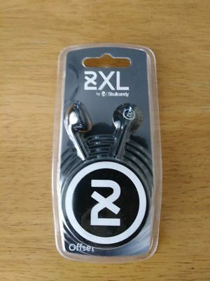Skullcandy 2XL Offset Earbud Headphones Black NEW IN BOX