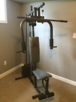 Wieder Home Gym Exercise Station with Weights