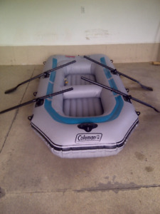 Coleman 4 person inflatable boat