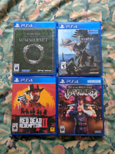 Selling PS4 Games