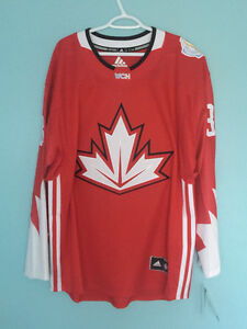 Carey Price Signed Team Canada Jersey with hologram & COA
