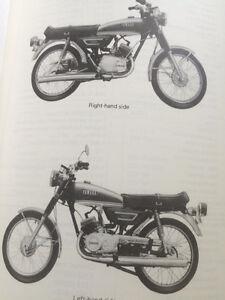1972 Yamaha LS2 100 Service Manual Regina Regina Area image 3