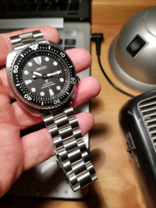 Trade Seiko SRP777 Turtle Certified Mens Diver Watch Automatic