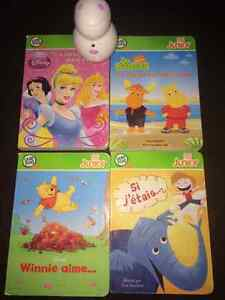 4 livres LeapFrog (Tag Junior)