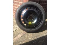Vauxhall brand new space saver wheel and tyre