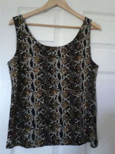 Sleeveless top and jacket size 16 - LIKE NEW Kitchener / Waterloo Kitchener Area image 3