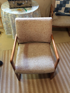2 Solid Wood chairs excellent condition