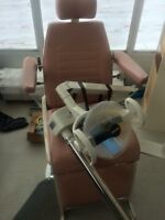 barber or dental professional chair