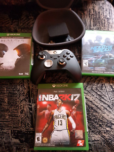 Xbox Elite controller, Halo 5, Need for Speed, and NBA 2K 17...