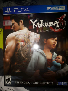 PS4 Yakuza 6 Trade for God of War