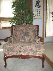 Re upholstery  Antique Sofa and Chair Strathcona County Edmonton Area image 3