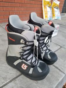 Snowboard package - Salomon Rude 159 (board, bindings, boots)