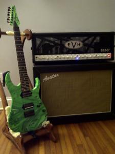 Mint EVH III 100Watt Tube Guitar Amplifier and Footswitch