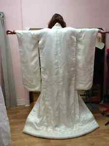 Superb Japanese Wedding Kimono PREMIUM PURE JAPANESE SILK Cambridge Kitchener Area image 2