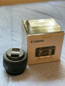 """Canon EF 50mm f/1.8 STM Lens Newer Version of """"Nifty Fifty"""""""