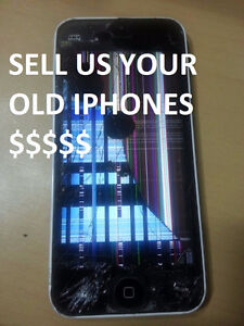 I WILL BUY YOUR OLD IPHONE 5S .. DAMAGED OR NOT 5S / 6 / 6PLUS