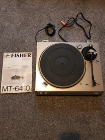 Fisher MT-6410 Record player
