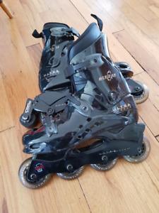 Ultra roller blades, women size 7