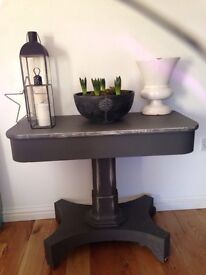 Beautiful antique painted table
