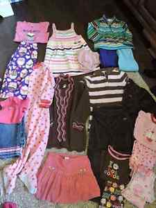 3T Fall/Winter girls clothing Lot. Name brand clothing. London Ontario image 1